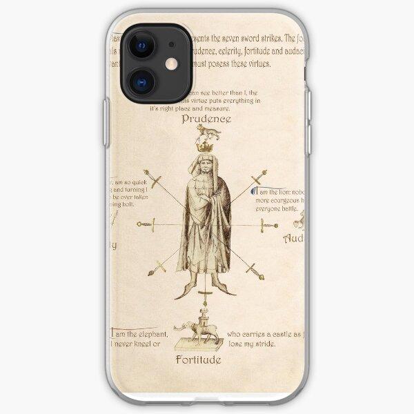 Fiore dei Liberi Getty Segno (English) iPhone Soft Case