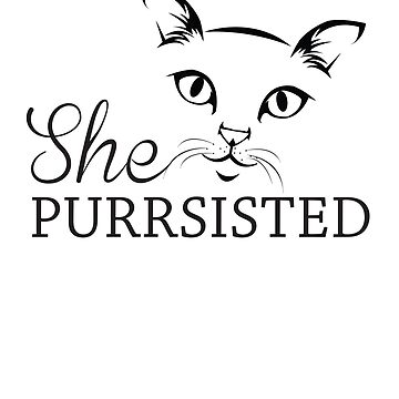 She purrsisted by artack