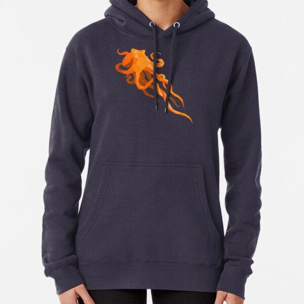 Geometric Octopus Pullover Hoodie