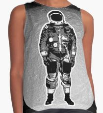 Astronaut on the Moon Contrast Tank