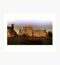 York minster in the wide Art Print
