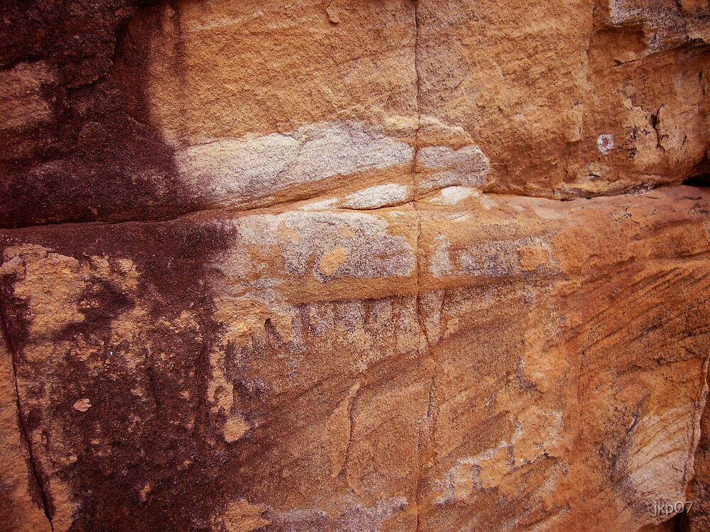 Sandstone cliff face by jkp07