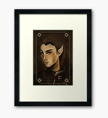 thief portrait Framed Print