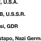 ICE KGB Stasi Gestapo by ambriente