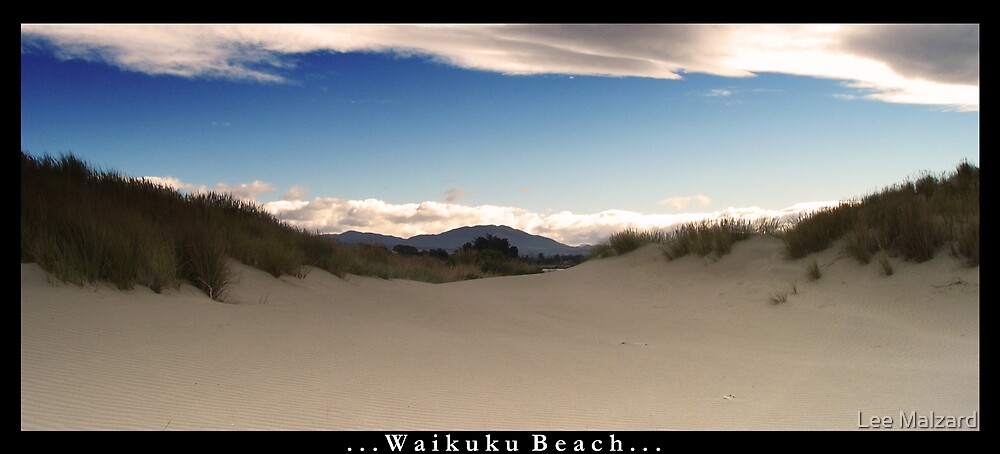 Wiakuku Beach by Lee Malzard