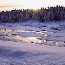 Ice river by MagnusAgren