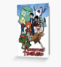 Adventure Time-Lord Number Ten Greeting Card