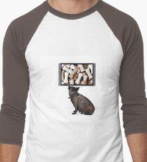 Dreaming Dog Men's Baseball ¾ T-Shirt
