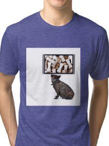 Dreaming Dog Tri-blend T-Shirt