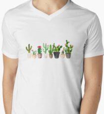 Cactus Men's V-Neck T-Shirt