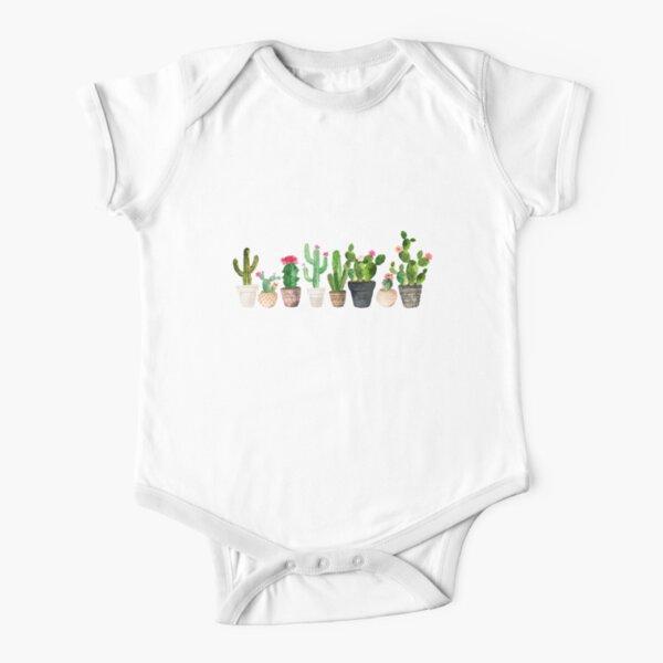 Cactus Short Sleeve Baby One-Piece