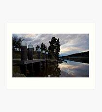 Shoal Haven river Art Print