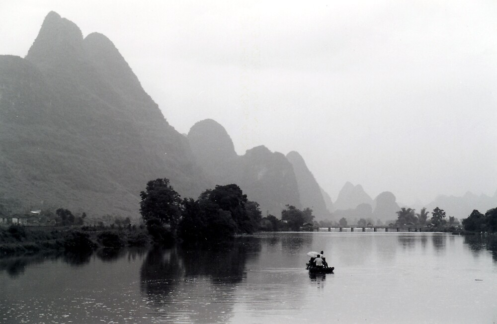 Chinese Landscape by betelnut