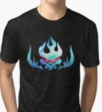 Super Tengen Toppa Gurren Lagann Flag  Tri-blend T-Shirt