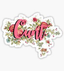Cunt Sticker
