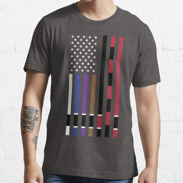 BJJ Stars and Stripes Essential T-Shirt