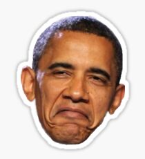 Obama Face Sticker