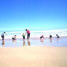 SUMMER TIME BEACH FUN  by DENENE CHERISE MAXWELL
