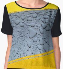 HDR Raindrops Chiffon Top