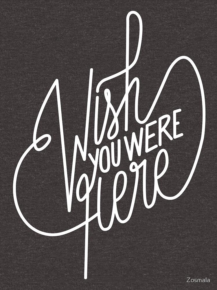 «Wish You Were Here - Pink Floyd» par Zosmala