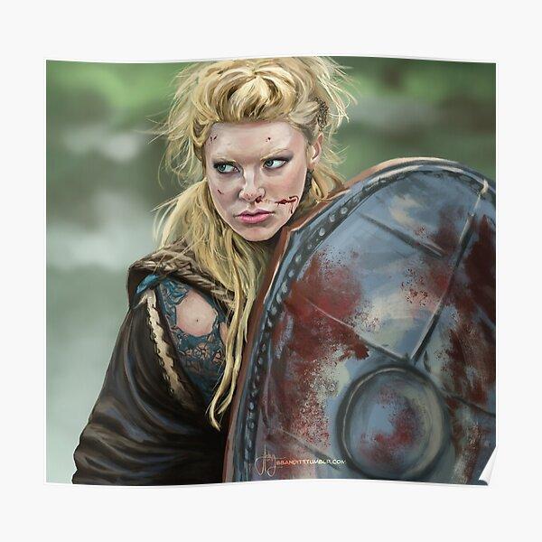 Lagertha - Vikings Poster