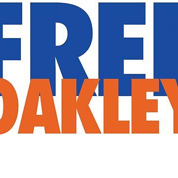 Free Oakley (Blue/Orange) by Pelicaine