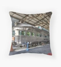 California Zephyr Throw Pillow