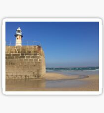 St Ives Cornwall 'Smeatons Pier' Sticker