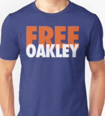 Free Oakley (Orange/White) Unisex T-Shirt