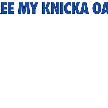 Free My Knicka Oak (Blue) by Pelicaine