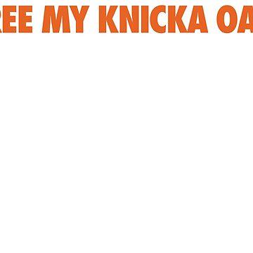 Free My Knicka Oak (Orange) by Pelicaine