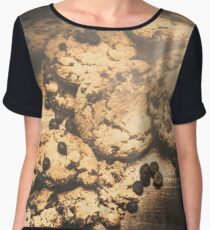 Home biscuit baking Chiffon Top