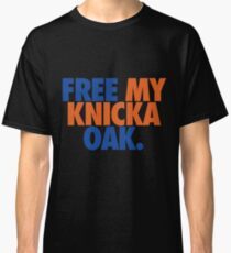 Free My Knicka Oak (Blue/Orange) Classic T-Shirt