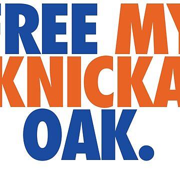 Free My Knicka Oak (Blue/Orange) by Pelicaine