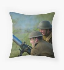 Mirth and a Mortar Throw Pillow