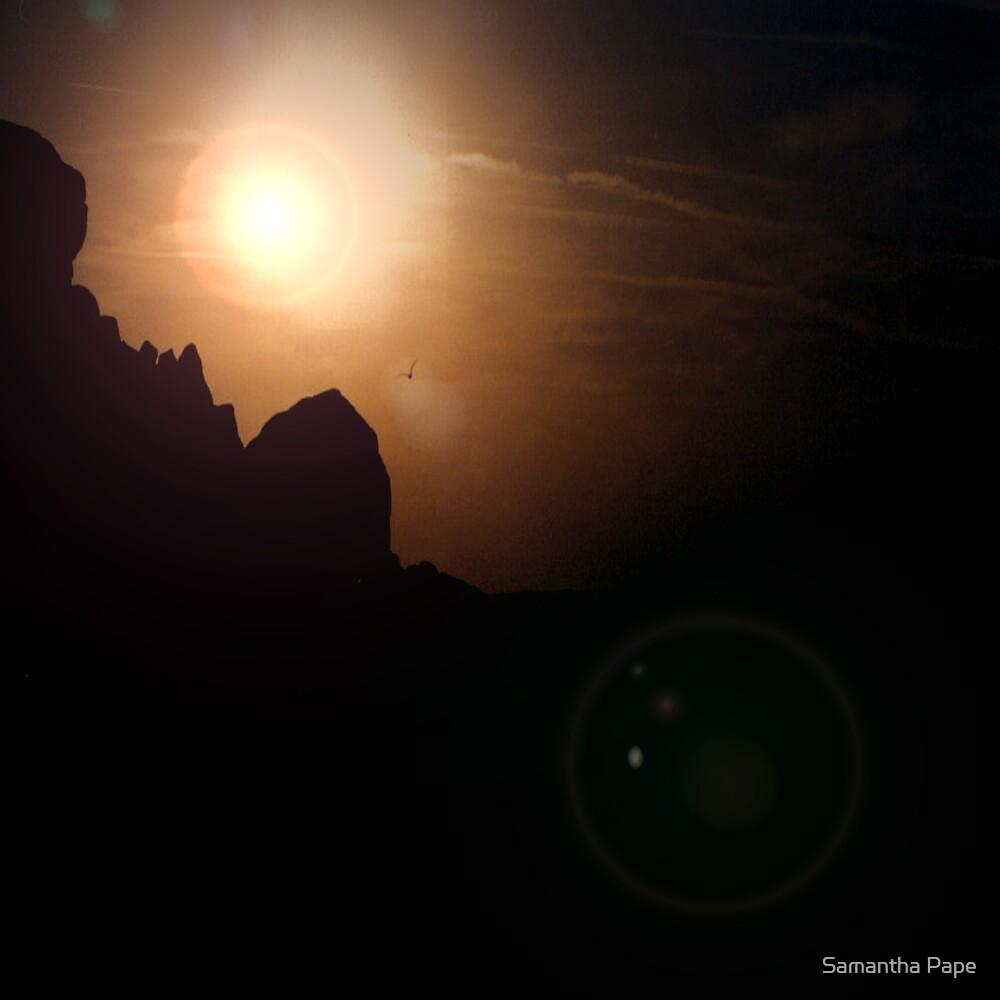 Sunset Mountain by Samantha Pape