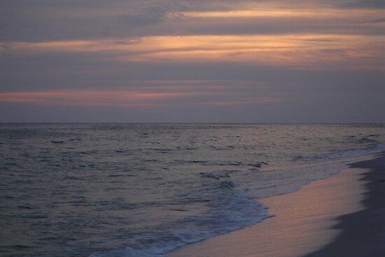 Sun Set At Orang Beach Al. by candy