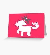 The Wrong Unicorn Greeting Card