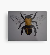 JUST-BEE Metal Print