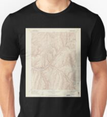 USGS TOPO Map Colorado CO No Name Ridge 401511 1952 24000 Unisex T-Shirt