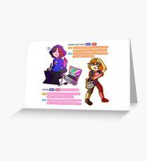 The AlmsAni Pokemon Greeting Card