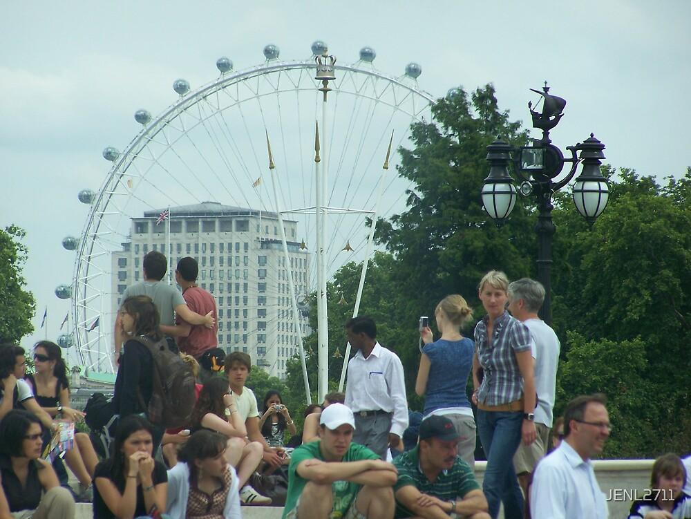 THE LONDON EYE by JENL2711