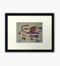 Tactics on the Passageway Framed Print