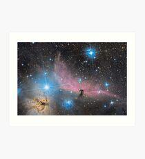 Lámina artística La nebulosa de Horsehead