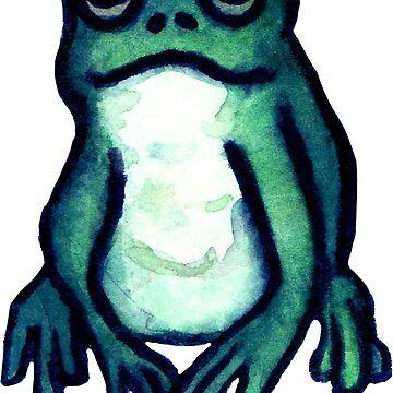 Turquoise Dumpy Frog  by cheapkrabs