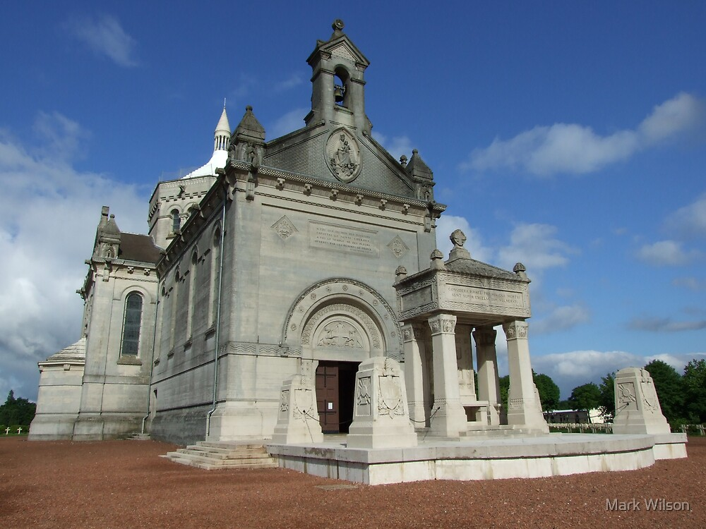 Basilica at Notre Dame de Lorette by Mark Wilson
