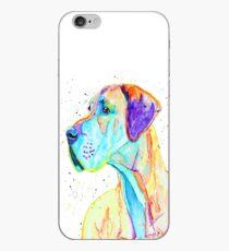 Graceful - great dane dog prints iPhone Case