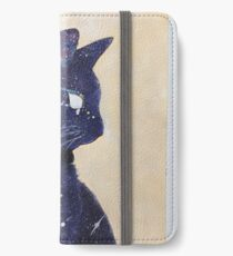 Katzenkunde iPhone Flip-Case/Hülle/Klebefolie