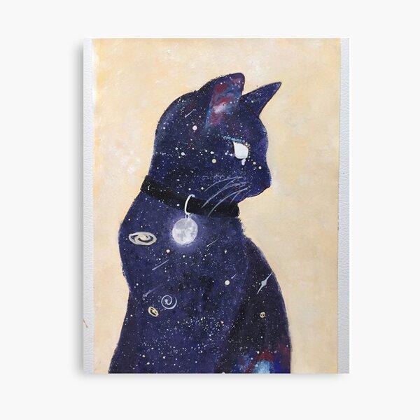 Catstronomy Canvas Print