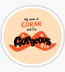 Coran The Gorgeous Man Sticker